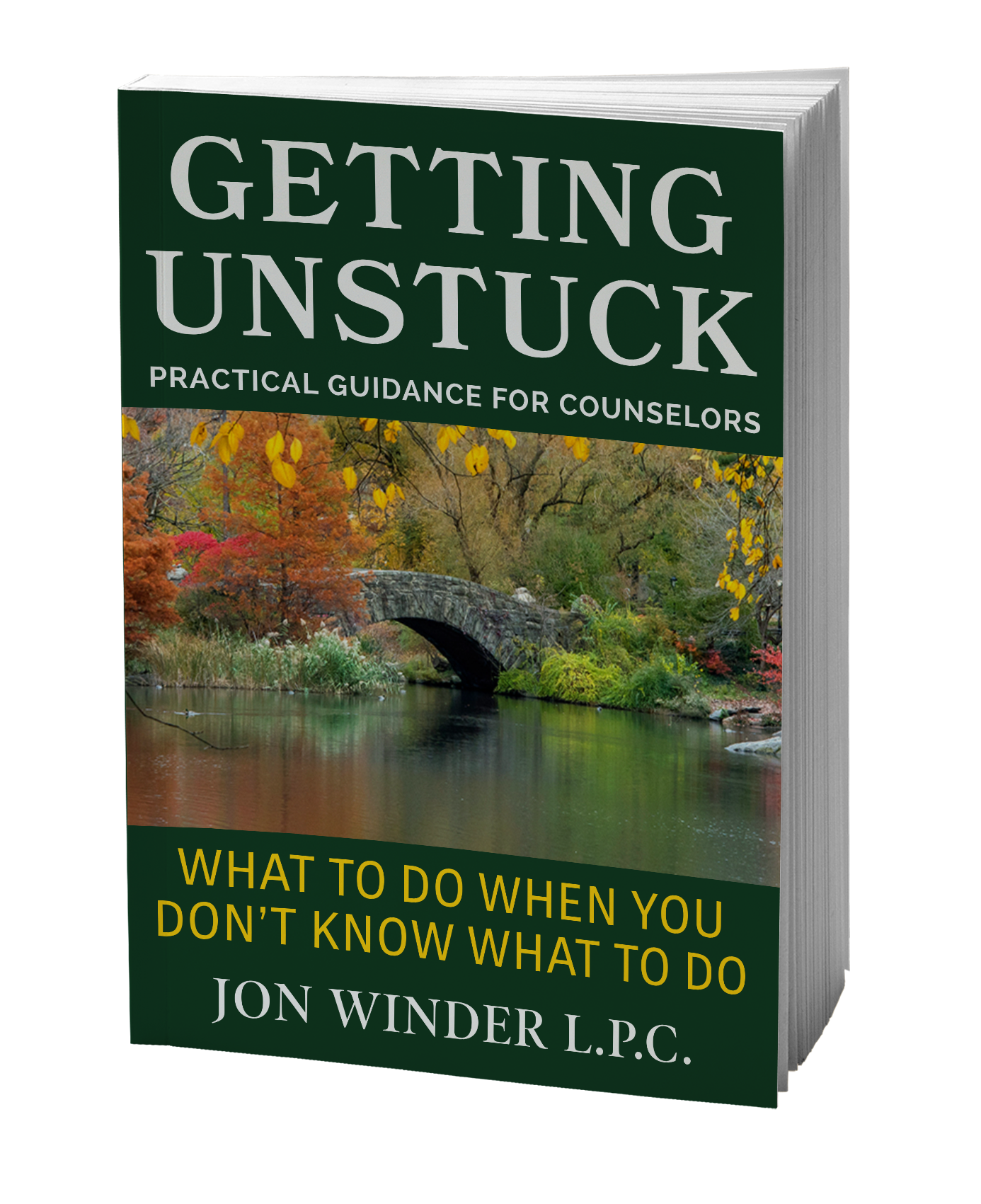 Getting Unstuck, Jon Winder