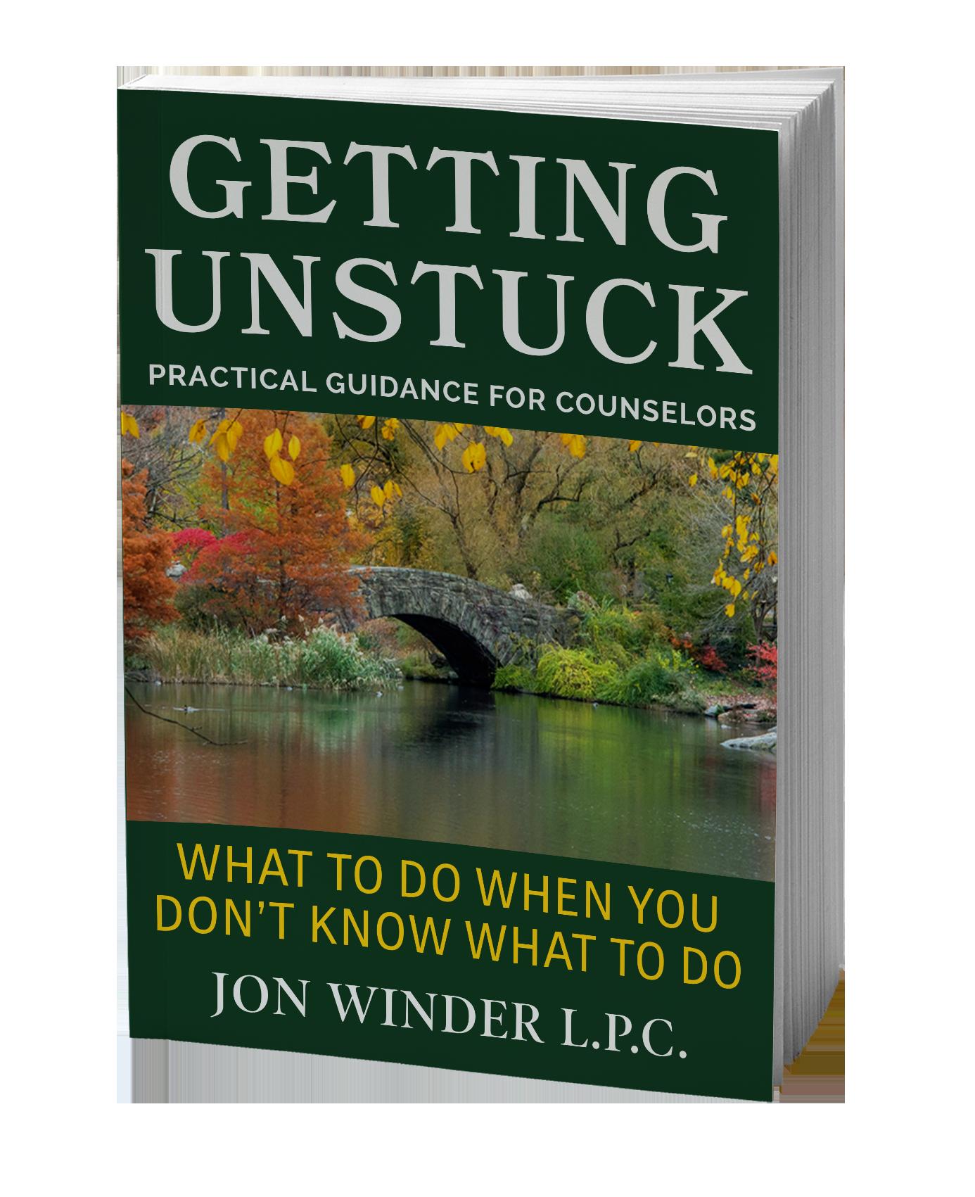 Getting Unstuck, Jon Winder